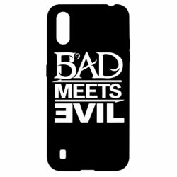 Чехол для Samsung A01/M01 Bad Meets Evil