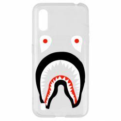 Чехол для Samsung A01/M01 Bape shark logo