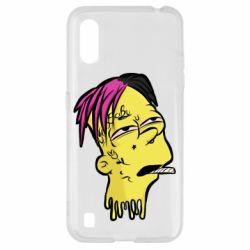 Чехол для Samsung A01/M01 Bart as Lil Peep