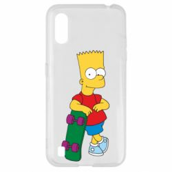 Чохол для Samsung A01/M01 Bart Simpson