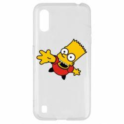 Чехол для Samsung A01/M01 Барт Симпсон