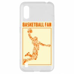 Чохол для Samsung A01/M01 Basketball fan