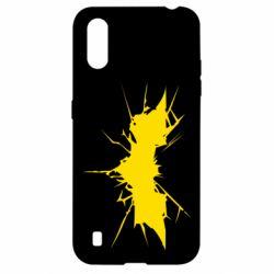 Чохол для Samsung A01/M01 Batman cracks