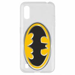 Чехол для Samsung A01/M01 Batman Gold Logo