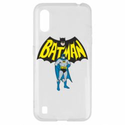Чехол для Samsung A01/M01 Batman Hero