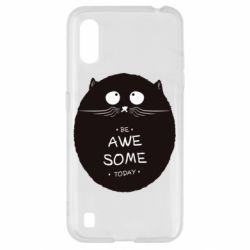 Чохол для Samsung A01/M01 Be Awesome Today!