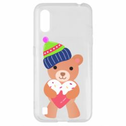 Чехол для Samsung A01/M01 Bear and gingerbread