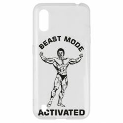 Чехол для Samsung A01/M01 Beast mode activated