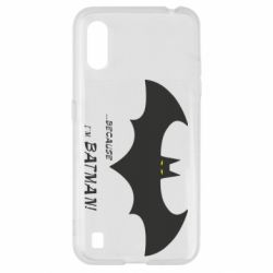 Чохол для Samsung A01/M01 Because i'm batman
