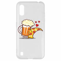 Чохол для Samsung A01/M01 Beer and Pizza were kissed