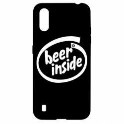 Чехол для Samsung A01/M01 Beer Inside