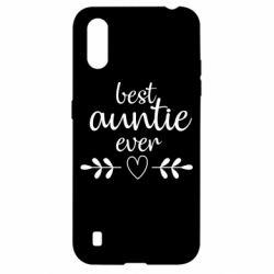 Чохол для Samsung A01/M01 Best auntie ever