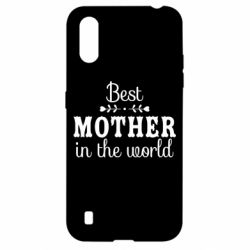 Чохол для Samsung A01/M01 Best mother in the world