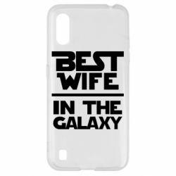 Чехол для Samsung A01/M01 Best wife in the Galaxy