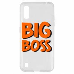 Чехол для Samsung A01/M01 Big Boss