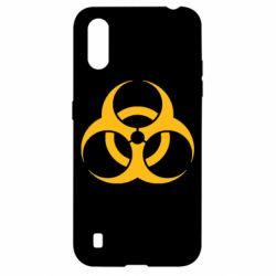 Чехол для Samsung A01/M01 biohazard