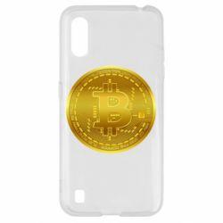 Чохол для Samsung A01/M01 Bitcoin coin