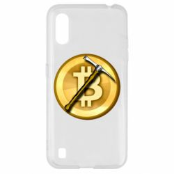 Чохол для Samsung A01/M01 Bitcoin Hammer