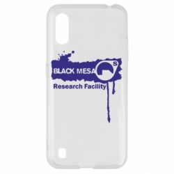 Чехол для Samsung A01/M01 Black Mesa