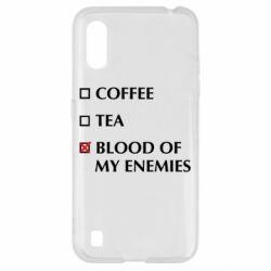 Чохол для Samsung A01/M01 Blood of my enemies