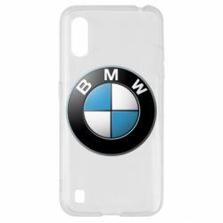 Чехол для Samsung A01/M01 BMW Logo 3D