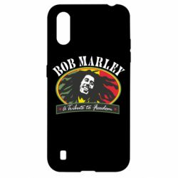 Чехол для Samsung A01/M01 Bob Marley A Tribute To Freedom