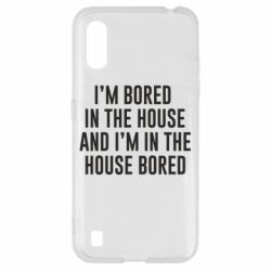 Чохол для Samsung A01/M01 Bored in the house