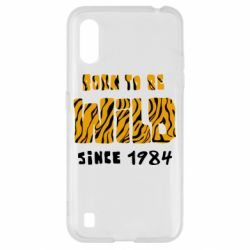 Чохол для Samsung A01/M01 Born to be wild sinse 1984