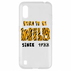 Чохол для Samsung A01/M01 Born to be wild sinse 1988
