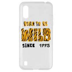 Чехол для Samsung A01/M01 Born to be wild sinse 1995