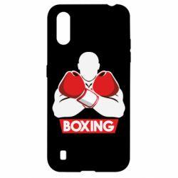 Чехол для Samsung A01/M01 Box Fighter