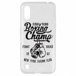 Чохол для Samsung A01/M01 Boxing Champ
