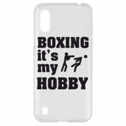 Чохол для Samsung A01/M01 Boxing is my hobby