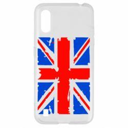 Чехол для Samsung A01/M01 Британский флаг
