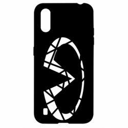 Чохол для Samsung A01/M01 Broken logo