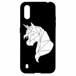 Чохол для Samsung A01/M01 Broken unicorn 1