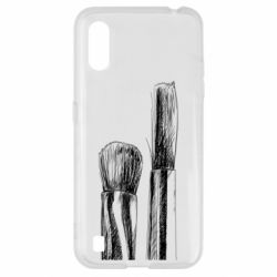 Чохол для Samsung A01/M01 Brushes