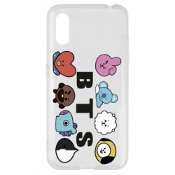 Чохол для Samsung A01/M01 Bts emoji