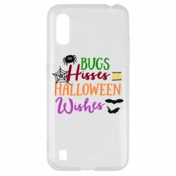 Чохол для Samsung A01/M01 Bugs Hisses and Halloween Wishes