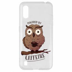 Чохол для Samsung A01/M01 Caffeine Owl