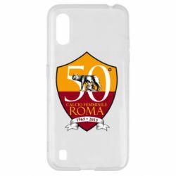 Чохол для Samsung A01/M01 Calcio Femminile Roma