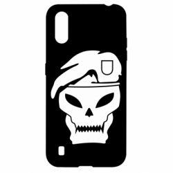 Чехол для Samsung A01/M01 Call of Duty Black Ops logo