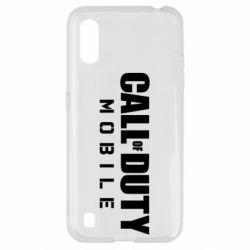 Чехол для Samsung A01/M01 Call of Duty Mobile