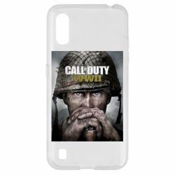 Чохол для Samsung A01/M01 Call of Duty WW2 poster
