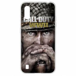 Чехол для Samsung A01/M01 Call of Duty WWII