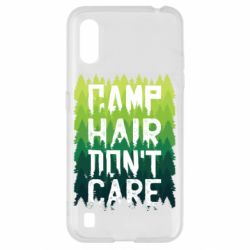Чехол для Samsung A01/M01 Camp hair don't care