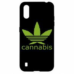 Чохол для Samsung A01/M01 Cannabis