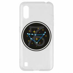 Чехол для Samsung A01/M01 Capricorn constellation