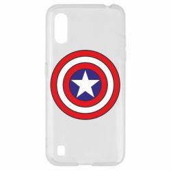 Чехол для Samsung A01/M01 Captain America