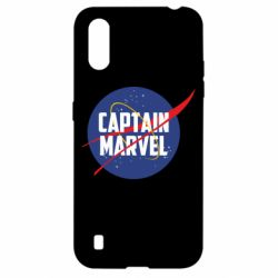 Чохол для Samsung A01/M01 Captain Marvel in NASA style